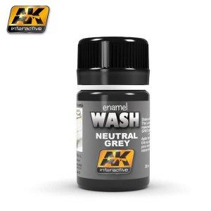 AK Interactive AK 677 Wash Neutral Dark Grey 35ml