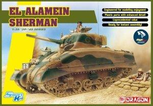 Dragon 6617 EL ALAMEIN SHERMAN w/magic track 1/35