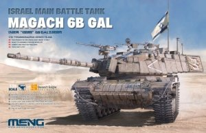 Meng Model TS-044 Israel Main Battle Tank Magach 6B GAL 1/35