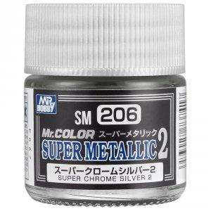 Mr.Color SM-206 Super Chrome Silver 2