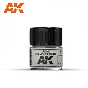 AK Interactive RC308 AE-9 / AII LIGHT GREY 10ML