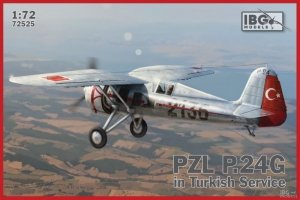 IBG 72525 PZL P.24G in Turkish Service 1/72