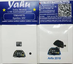 Yahu YMA4876 Spitfire Mk.XIV for Acurate/Academy/Eduard/Italeri/Revell 1/48