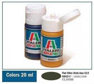 Italeri 4842 FLAT OLIVE DRAB (ANA 613) 20ml
