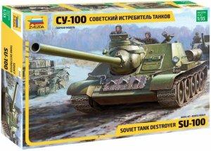 Zvezda 3688 SU-100 Tank Destroyer 1/35