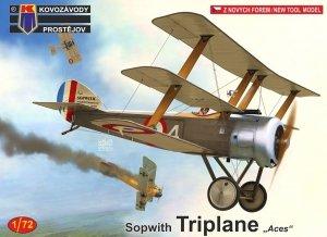 Kovozavody Prostejov KPM0184 Sopwith Triplane France 1/72