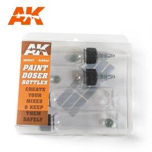 AK Interactive AK 9047 Paint Doser Bottles 60ml