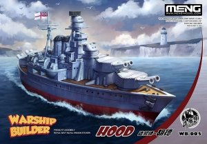 Meng Model WB-007 Warship Builder USS Cleveland