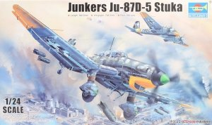 Trumpeter 02424 Junkers Ju-87D-5 Stuka  1/24