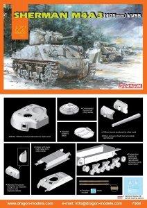 Dragon 7569 Sherman M4A3 (105mm) VVSS 1/72