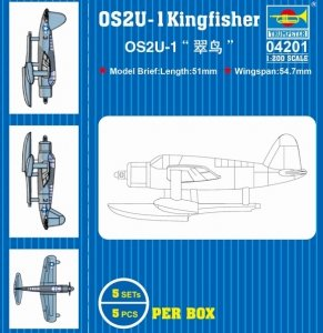 Trumpeter 04201 OS2U-1 Kingfisher  1/200