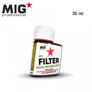 Mig Productions F245 BROWN FOR DARK GREEN 35ml