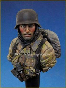 Young Miniatures YM1810 German Waffen SS Ardennes 1944(II) 1/10