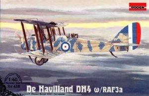 Roden 432 De Havilland DH4 w/RAF3a