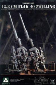 Takom 2023 WWII GERMAN 12.8 CM FLAK 40 ZWILLING