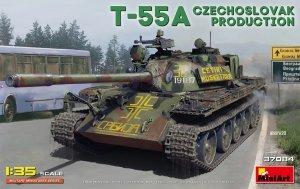 Miniart 37084 T-55A CZECHOSLOVAK PRODUCTION 1/35