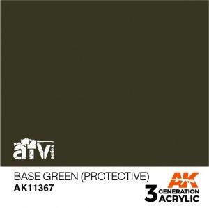 AK-Interactive AK 11367 Base Green (Protective) 17ml