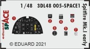 Eduard 3DL48005 Spitfire Mk.I early SPACE 1/48