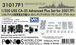 Pontos 31017F1 CA-35 Advanced Plus Set for 35017F1 (1:350)