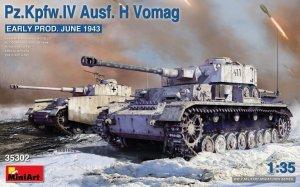 MiniArt 35302 Pz.Kpfw. IV Ausf. H Vomag 1/35