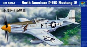 Trumpeter 02401 N.A.P-51D MUSTANG IV (1:24)
