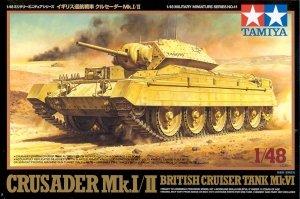 Tamiya 32541 British Crusader Mk.I&II Tank (1:48)