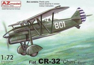 AZmodel AZ7612 Fiat CR-32 Chirri Export version 1/72