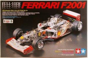 Tamiya 20054 Ferrari F2001 Full-View (1:20)