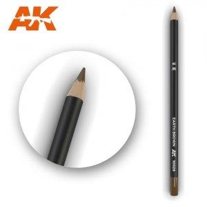 AK Interactive AK 10028 Watercolor Pencil EARTH BROWN