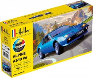 Heller 56146 Starter Kit - Alpine A310 V6 1/43