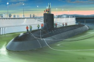Hobby Boss 83513 USS Virginia SSN-774 1/350