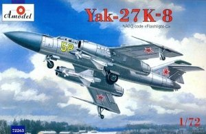 A-Model 72263 Yak-27 K-8 1/72