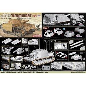 Dragon 6892 Sd.Kfz.166 Stu.Pz.IV 'Brummbär' 1/35