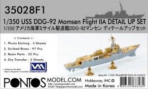 Pontos 35028F1 USS DDG-92 Momsen Flight IIa Detail Up Set 1/350