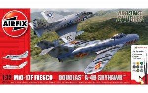 Airfix 50185 Mig 17 & Douglas Skyhawk Dogfight Double 1/72