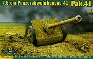 ACE 72280 German 7.5cm Panzerabwehrkanone 41 (Pak.41) (1:72)