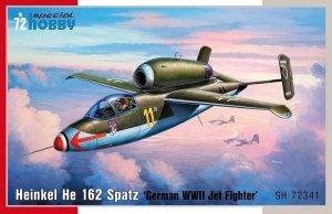 Special Hobby 72341 Heinkel He-162 Spatz 1/72