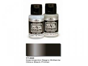 Vallejo 77660 Metal Color- Gloss Black Primer 32ml