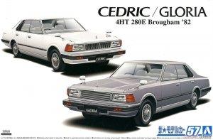 Aoshima 05915 Nissan P430 Cedric / Gloria 4HT 280E Brougham 82 1/24