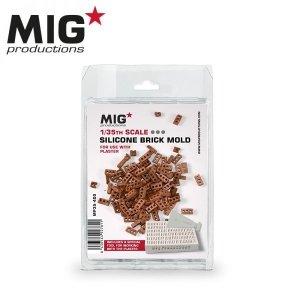 MIG Productions MP35-400 SILICONE BRICK MOLD (1:35)