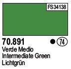 Vallejo 70891 Intermediate Green (74)