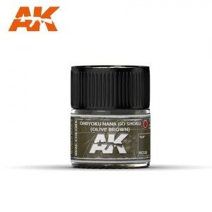 AK Interactive RC330 OHRYUKO NANA GO SHOKU (OLIVE BROWN) 10ML