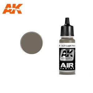 AK Interactive AK 2248 A-21M LIGHT YELLOWISH BROWN 17ml