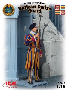 ICM 16002 Vatican Swiss Guard 1/16