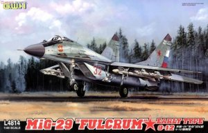 Great Wall Hobby L4814 MiG-29 FULCRUM EARLY TYPE 9-12 1/48