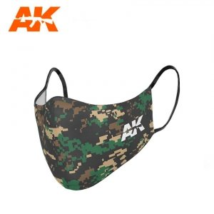 AK Interactive AK 9158 CLASSIC CAMOUFLAGE FACE MASK 03
