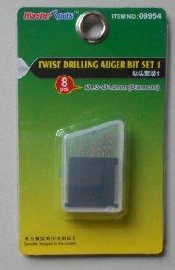 Trumpeter 09954 Twist Drilling Auger Bit Set 1 (0.3-1.0mm Diameter)