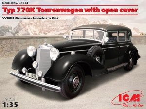 ICM 35534 Typ 770K Tourenwagen with open cover, WWII German Leader's Car 1/35