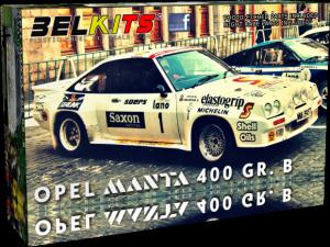 BelKits 009 Opel Manta 400 Gr. B Uren van Ypres 1984 1/24