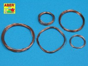 Aber ADZ-01 Wires set (diameter 0,2; 0,3; 0,4; 0,5; 0,6 mm, length 1m each)